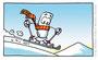 """Skiing"" (Durchstarten VS, Englisch, 2010) - Veritas Verlag, Linz"