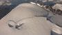 Der Gipfelgrad des Mont Blanc auf einer Seehöhe von 4.810 Metern. Tags zu- vor hatte es noch starken Schneefall gegeben, wodurch die Spur kaum sicht- bar war. Trotz des sonnigen Wetters erreichten lediglich fünfzehn Personen den Gipfel.