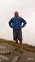 Ralf Seeger auf dem Gipfel des Mont Jolie auf ca. 2.600 Metern, den er einige Tage später bestieg ...