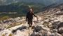 ... wo eine zünftige Brettljaus'n auf ihn wartete. Innerhalb von fünf Tagen be- stieg Ralf Seeger ca. 10.000 Höhenmeter.