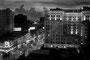 """Canal Street : """"Au clignement des signaux lumineux, au tintement des sonneries, trams et autos traversaient le carrefour..""""Extrait de Pylône de W. Faulkner"""