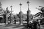 """Jackson Square : """"Passé les formes parfaites des lampadaires et le vieux portail vert patiné..."""" Extrait de Croquis de La Nouvelle-Orléans de W. Faulkner"""