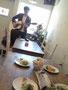 ライブ前リハーサル in hana-cafe