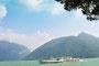 Lago Maggiore bei Melide (Ticino)