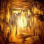 """""""Verlust der Ordnung"""" ~ Struktur verlieren macht unsicher - erkennen, dass dies nur ein Wechsel im Kaleidoskop des Lebensbildes sein kann, schenkt Lebendigkeit"""