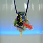 2151183     Anhänger    Tombak vergoldet  mit  Fotomotiven auf Aludibond    Kunststoff   antikes Elfenbein   Zuchtperltropfen   820 €