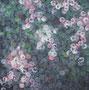 Hanami 2013 I Udo Homeyer I Acryl auf Hartfaser, 80 x 80 cm