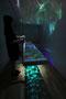 Luminous flux/2015/偏光フィルム・木材/H30×W200×D10cm
