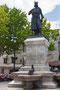 Statue von Ludwig dem Heiligen in Aigues-Mortes