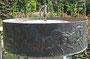 Brunnen im Blindenrosengarten