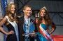 Gruyère der Swiss Champion 2014 mit dem Sieger Jean-Marie Droz und Ehrendamen