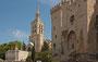 Cathedrale Notre-Dame des Doms und Teil des Papstpalastes