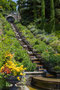 die italienische Wassertreppe