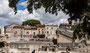 Blick zum antiken Theater