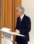 Seminarleiter Dr. Johann Sjuts übte seinerseits Kritik an zu pauschaler Schulkritik. Foto: Ulrichs