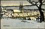 1914, Ansicht im Winter