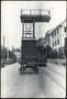 1940, alter Turmwagen vor Depot, Richtung Stadt