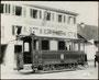 1898, vor dem Hirschen in Töss, Dienstgeleise zum Depot Rieter