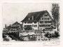 Schlangenmühle, Bahnhofplatz (heute COOP City)