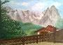 Waxensteine in Garmisch / 29,5x20cm
