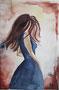tanzende Frau (nach Bärbel Giessmann) / 20x30cm