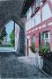 Cadolzburg (bei Nürnberg) n. Foto Aquarellforum / 20x30cm