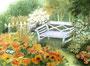 Sonnenplatz im Garten / 15x10,5cm