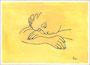 Schlafende Frau (nach Picasso) 28x20cm