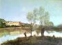 """""""Ville d'Avray"""" (nach Corot-18.-19.Jh.) / 45x34cm"""