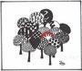 Bäume-Grafik / 15x13cm