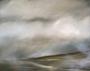 In den Nebel horchen / 2021 / Öl auf Leinen / 40x50cm