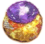 Pétanque haricot violet