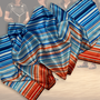 19.) Schal Streifen Multicolor - Feld Textil GmbH aus Krefeld - https://www.krawatten-tuecher-schals-werbetextilien.de/