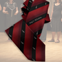18.) Krawatte mit Notenschlüssel + Chornamen - Feld Textil GmbH aus Krefeld - https://www.krawatten-tuecher-schals-werbetextilien.de/