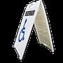 Resistente al medio ambiente, rayos UV y cambios extremos de temperatura •Plegable •Riesgo reducido para los dedos pellizcados •Ocupa espacio reducido en almacén  •Medidas ancho 62.7 cm., Alto 114.0 cm., espesor 7.5cm