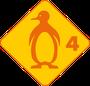 Schwimmabzeichen Pinguin