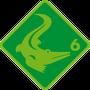 Schwimmabzeichen Krokodil