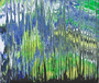 """WOOD"" - Acryl auf Dibond - 125x105 - 016BS"