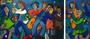 Dancing, 130 X 80 cm / 50 x 80 cm, Acryl
