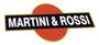 martini& rossi logo sticker decal