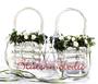 dekorierte Blumenkörbchen für Blumenmädchen / SMITHERS-OASIS COMPANY Floral Foam. All rights reserved.