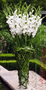 Altardeko Gladiolen-Strauß