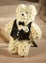 Trauerteddy komplett gesteckt / zum Verabschieden von oder Gedenken an Kinder geeignet / SMITHERS-OASIS Company Floral Foam. All rights reserved.