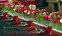"""Tischdeko """"Blumenfries"""""""