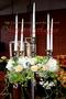 """Tischdeko """"Blütenkranz"""" für den Kerzenleuchter"""