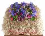 Blüten-Ringkissen