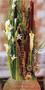 Trauergesteck groß, teilweise aus Trockenblumen, lange haltbar