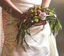 lockerer Bogen-Brautstrauß