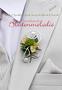 """Anstecker """"Blütenornament"""" für den Bräutigam"""