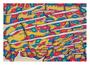 48: HILIHA'I - Wachsendes Vertrauen / 2016 / Acryl und Filzstift auf Papierkarton / 100x70 - Original: CHF 2000